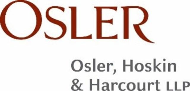 Osler, Hoskin & Harcourt LLP (Groupe CNW/Institut des administrateurs de sociétés (IAS))