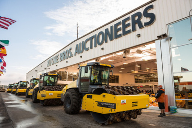 Ritchie Bros. Orlando, Florida auction (February 16 - 20, 2015) featured a record-setting 10,500+ equipment ...
