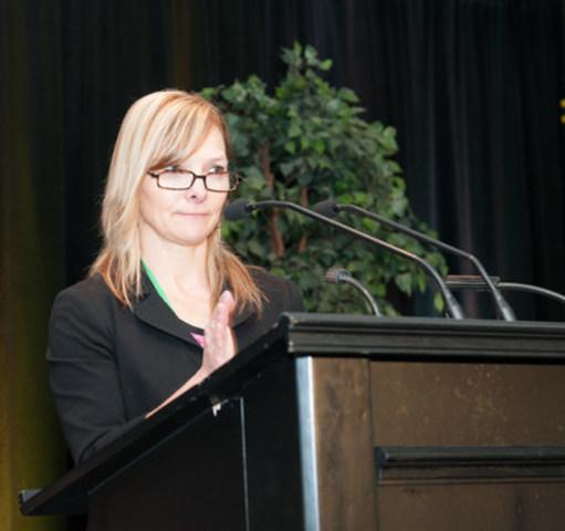 La conseillère d'orientation organisationnelle, Josée Landry, nouvelle présidente de l'Ordre des conseillers et conseillères d'orientation du Québec (Groupe CNW/Ordre des conseillers et conseillères d'orientation du Québec)