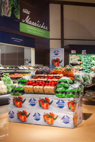 Odd-looking fruit and vegetables arrived at 290 IGA supermarkets! (CNW Group/IGA)