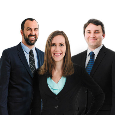 Ryan Devereux, Ashley Didone & Yuriy Tyshchuk, Partners, Collins Barrow KMD LLP (CNW Group/Collins Barrow National Cooperative Incorporated)