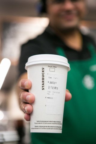 Starbucks Mobile Order and Pay arrives in Vancouver on January 19th (CNW Group/Starbucks Coffee Canada)