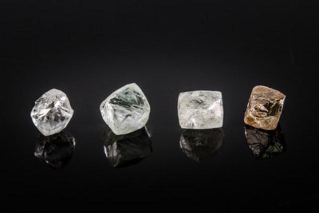 Kennady Diamonds 2016 bulk sample diamonds. (CNW Group/Kennady Diamonds Inc.)