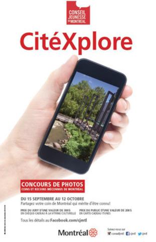Concours CitéXplore (Groupe CNW/Conseil jeunesse de Montréal)