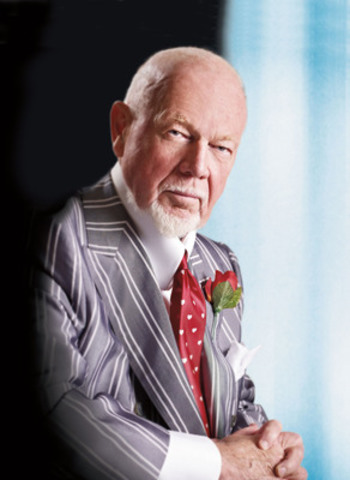 Don Cherry, Recipient of Kidney Foundation National Fund Development Award (CNW Group/Kidney Foundation of Canada)