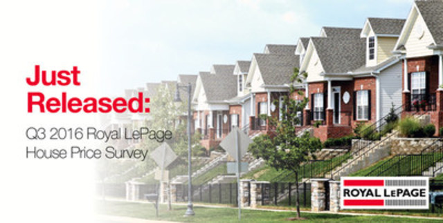 Gatineau: The real estate market remains stable in the third quarter with the median price experiencing a moderate 3.3 per cent increase (CNW Group/Royal LePage Real Estate Services)
