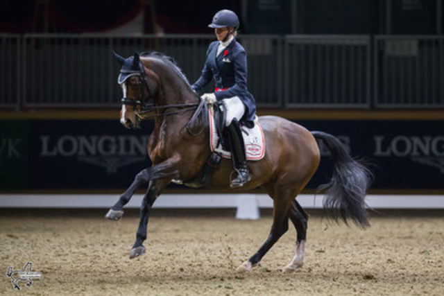 Megan Lane of Collingwood, ON, won the $20,000 Royal Invitational Dressage Cup, presented by Butternut Ridge, ...