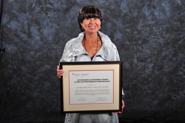 Lydia Boyko ARP, FLMI, B.J., M.Ed., Ph.D. (LM SCRP) (Groupe CNW/Société canadienne des relations publiques)