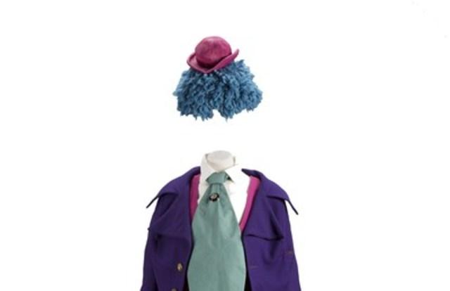 Le costume de Monsieur Bedondaine. © Musée de la civilisation, Julien Auger (Groupe CNW/Commission de la capitale nationale du Québec (CCNQ))