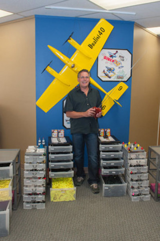 Bernd Eisele of Williams Lake, British Columbia is eBay Canada's first International-preneur. A model airplane engine retailer, Eisele grew up building and flying model airplanes powered by Cox engines, and decided to revive his passion for Cox products after discovering a niche-market opportunity. His eBay business now attracts model airplane enthusiasts from around the world. (ebay ID: xenalook) (CNW Group/eBay Canada)