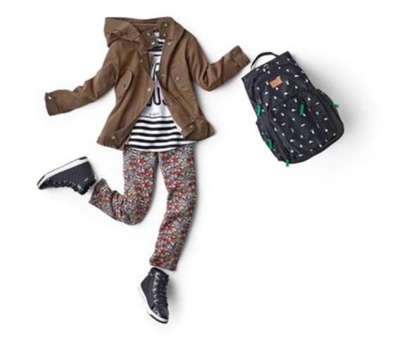De vos chaussures à votre sac à dos, assurez-vous que votre look pour la rentrée reflète votre style. (Groupe CNW/La Corporation Cadillac Fairview Limitee)