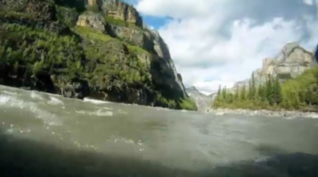 Video: Amateur video shot by visitors themselves, like this wild rafting experience on the Nahanni River, will run in select Australian cinemas to entice travellers to Canada this summer.