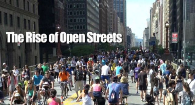"""Video: """"The Rise of Open Streets"""", by Streetfilms"""