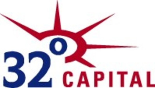 32 Degrees Capital (CNW Group/32 Degrees Capital)