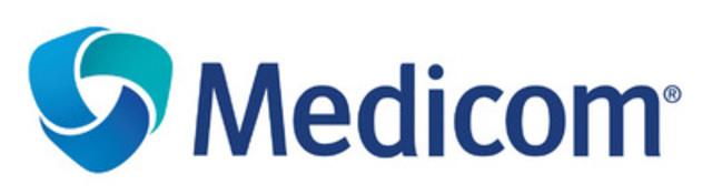 Nouveau logo Medicom (Groupe CNW/Medicom Inc.)