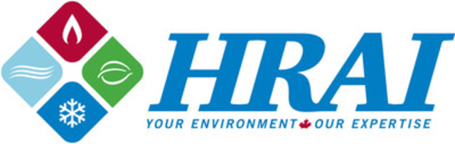The Heating, Refrigeration and Air Conditioning Institute of Canada (HRAI) (CNW Group/The Heating, Refrigeration and Air Conditioning Institute of Canada (HRAI))