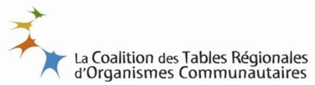 Coalition des tables régionales d'organismes communautaires (CTROC) (Groupe CNW/Coalition des tables régionales d'organismes communautaires (CTROC))