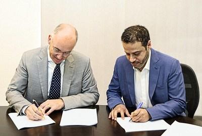 توقيع اتفاقية ترخيص تصميم حفار Jack-Up بين كلًا من شركة (IMI) وشركة (GustoMSC)