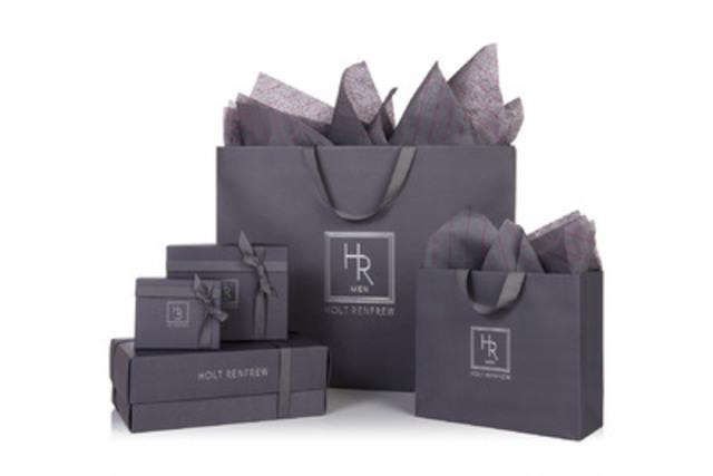 Holt Renfrew Men Packaging (CNW Group/Holt Renfrew)