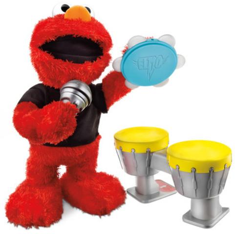 Elmo Let's Rock! de Playskool(R) et Sesame Street(R) (Groupe CNW/Zellers Inc. - Francais)