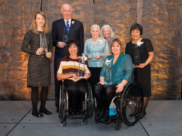 OTTAWA, Nov. 27, 2015 The Canadian Paralympic community celebrated seven accomplished and influential individuals this evening at a gala in Ottawa, for the official induction ceremony for the Canadian Paralympic Hall of Fame. Photo: Matthew Murnaghan / Canadian Paralympic Committee (CNW Group/Canadian Paralympic Committee (CPC))
