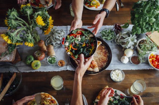 Canadians are celebrating World Food Day by hosting a Meaningful Meal and making a donation to help World Vision provide food access in developing countries. (CNW Group/World Vision Canada)