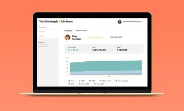 Announcing Wealthsimple for Advisors. Sometimes you just need the human touch. (CNW Group/Wealthsimple)