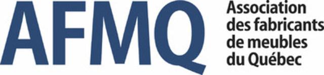 Logo : Association des fabricants de meubles du Québec (Groupe CNW/Association des fabricants de meubles du Québec)