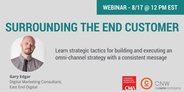 CMA and CNW webinar (CNW Group/CNW Group Ltd.)