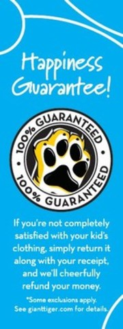 Giant Tiger's Happiness Guarantee truly is risk free shopping! (CNW Group/Giant Tiger Stores Limited)