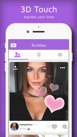 Express Your Love on BUMPN. Available on iTunes and Play Store. (CNW Group/Bumpn, Inc)