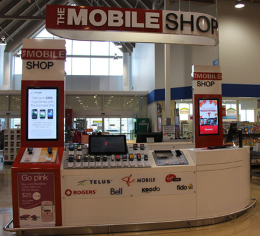 The Mobile Shop gives Canadians something new to talk about. (CNW Group/Loblaw Companies Limited)