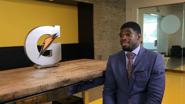 Video: Gatorade Canada welcomes P.K. Subban to team Gatorade.