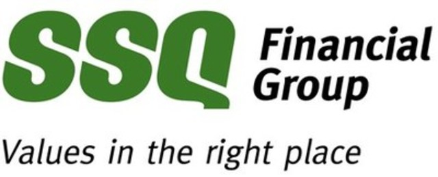 Logo : SSQ Financial Group - Values in the right place (CNW Group/SSQ FINANCIAL GROUP)