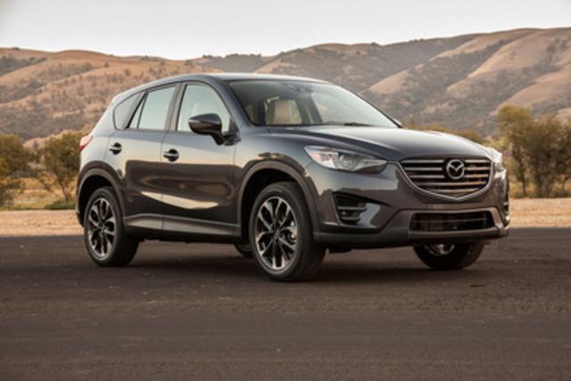 Mazda CX-5 2016 (Groupe CNW/Mazda Canada Inc.)