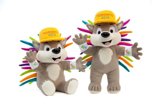 PACHI is the official mascot of the TORONTO 2015 Games. The brand new PACHI plush is available in standing form (28 cm) or sitting (22 cm). (CNW Group/Toronto 2015 Pan/Parapan American Games)