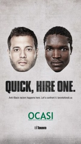 #BlackinTO: Toronto's anti-Black racism campaign launches today (CNW Group/Ontario Council of Agencies Serving Immigrants - OCASI)