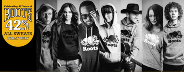 Roots Canada features Canadian musicians in their global #sweatstyle campaign. (CNW Group/Roots Canada Ltd.)
