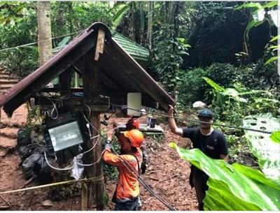 无线网络为泰国洞穴营救传递救援信息   美通社