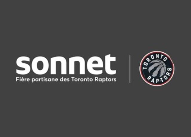 Sonnet(MC) est de la partie et encourage les Toronto Raptors (Groupe CNW/Sonnet Insurance Company)