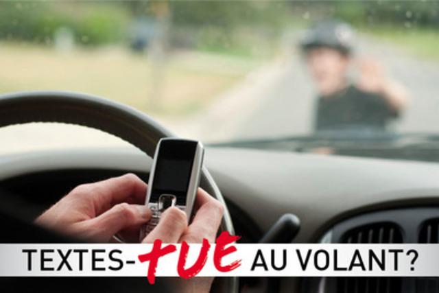 Opération nationale pour contrer les distractions au volant.  (Groupe CNW/Sûreté du Québec)