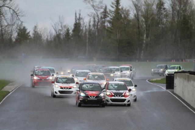 La saison 2016 a été lancée en Ontario, sur le circuit de Calabogie cette fin de semaine (Groupe CNW/Nissan Canada Inc.)