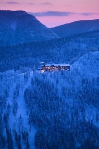 Auberge de montagne des Chic-Chocs (Groupe CNW/Société des établissements de plein air du Québec)