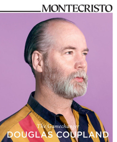 """I ask myself, what else can we look at that's actually an aesthetic, but we haven't yet discussed it as such?"" says beloved author, artist, and public figure, Douglas Coupland in the Winter 2012 issue of MONTECRISTO. ""I like writing about these universes that are still under the radar, or that are not culturally visible yet."" www.montecristomagazine.com(CNW Group/MONTECRISTO Magazine)"