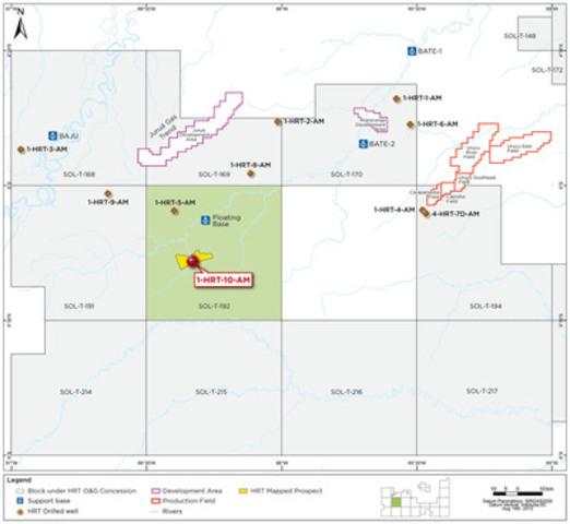 HRT Photo (CNW Group/HRT Participações em Petróleo S.A.)