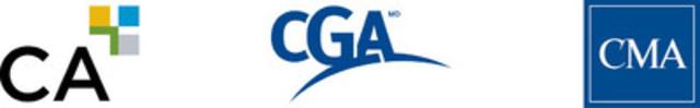 Logos (CNW Group/Ordre des comptables en management accrédités du Québec (CMA))