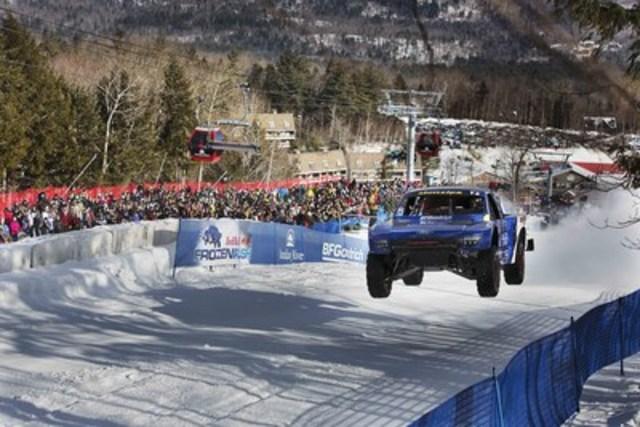 Les pneus BFGoodrich(MD) mordent dans la course Frozen Rush de Red Bull (Groupe CNW/Pneus BFGoodrich(MD))