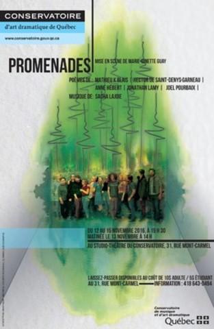 CADQ-Promenades (Groupe CNW/Conservatoire de musique et d'art dramatique du Québec)