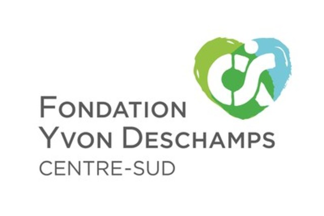 Logo : Fondation Yvon Deschamps Centre-Sud (Groupe CNW/Fondation Yvon Deschamps Centre-Sud)