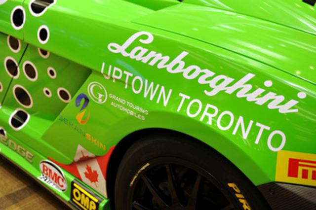Lamborghini Uptown Toronto's V10 Lamborghini Gallardo. (CNW Group/Grand Touring Automobiles)